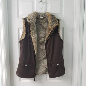 Reversible Sweater Vest